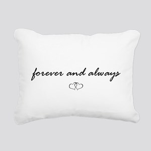 Forever and Always Rectangular Canvas Pillow