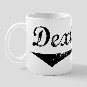 Dexter Vintage (Black) Mug