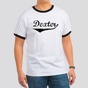 Dexter Vintage (Black) Ringer T