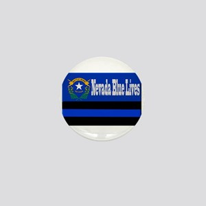 Nevada Blue Lives Mini Button