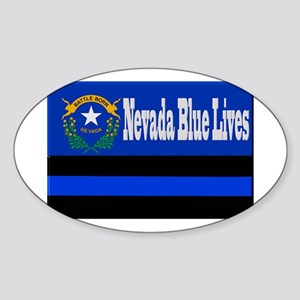 Nevada Blue Lives Sticker
