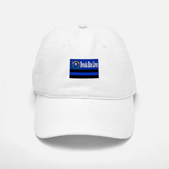 Nevada Blue Lives Baseball Baseball Baseball Cap