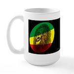 Jah Lion Dark Large Mug