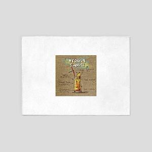Tequila Sunrise (Canvas) 5'x7'Area Rug