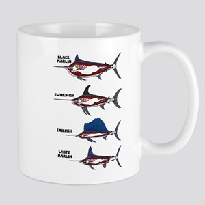 Unicorn Fish Mugs