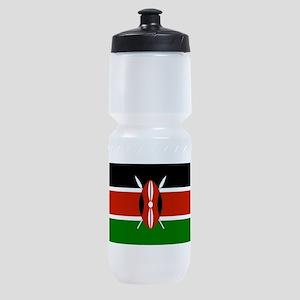 Kenyan Flag Sports Bottle