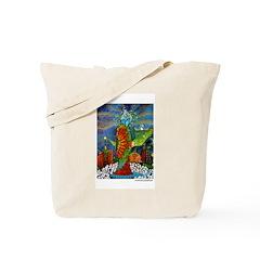 Marcy Hall's Bird Goddess Tote Bag