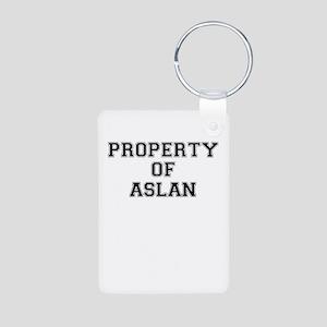 Property of ASLAN Keychains