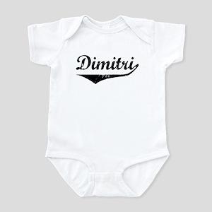 Dimitri Vintage (Black) Infant Bodysuit