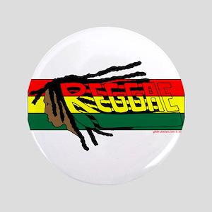 """Reggae 3.5"""" Button"""