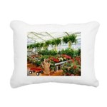 Plant Shopping With Rectangular Canvas Pillow