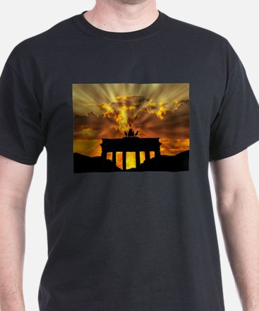 Brandenburg Gate, Berlin, German T-Shirt