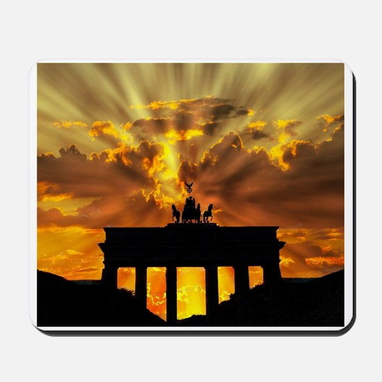 Brandenburg Gate, Berlin, German Mousepad