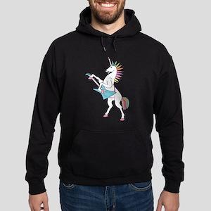 Punk Rock Unicorn Hoodie (dark)