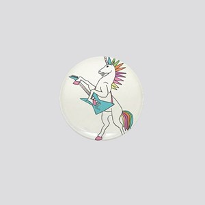 Punk Rock Unicorn Mini Button