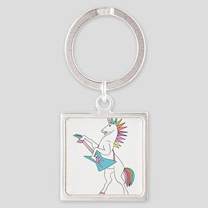 Punk Rock Unicorn Keychains
