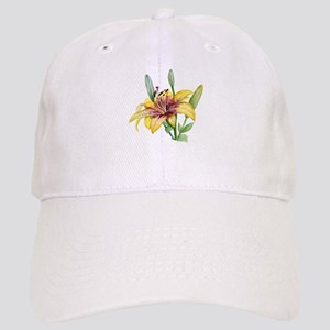Yellow Tiger Lily Cap