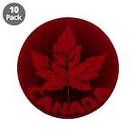 "Cool Canada Souvenir 3.5"" Button (10 pack)"