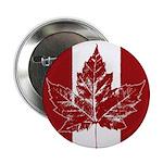 """Cool Canada Souvenir 2.25"""" Button"""