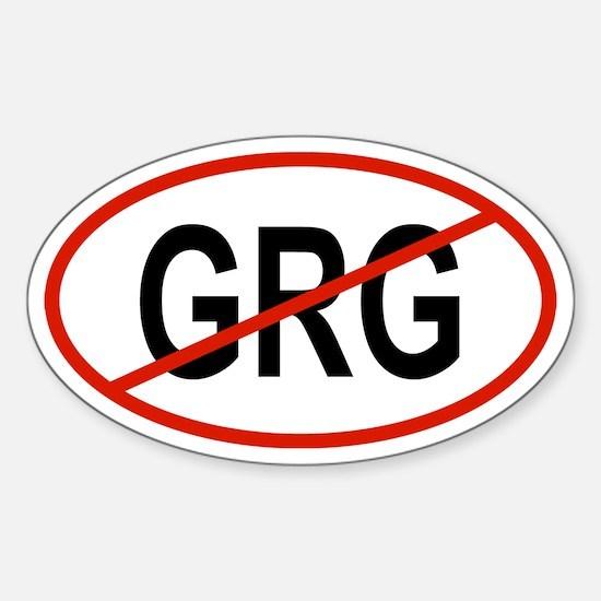 GRG Oval Decal