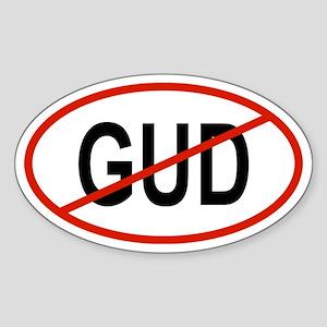 GUD Oval Sticker