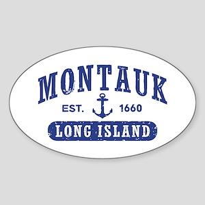 Montauk Sticker (Oval)