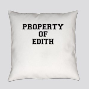 Property of EDITH Everyday Pillow