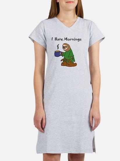 Cute Hate purdue Women's Nightshirt