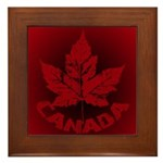 Cool Canada Souvenir Framed Tile