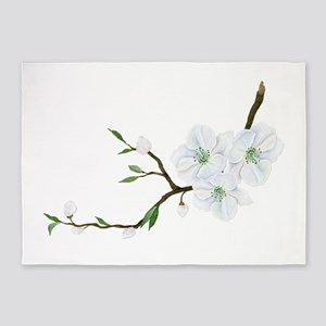 Blooming Twig 5'x7'Area Rug