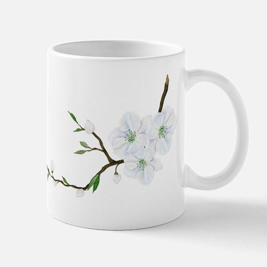 Blooming Twig Mugs