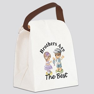 Brothers Are The Best Canvas Lunch Bag