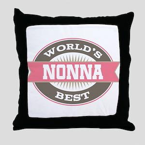 Nonna Grandma Gift Throw Pillow