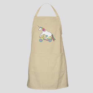 Unicorn Riding Motorscooter Apron