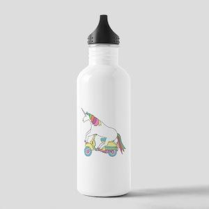 Unicorn Riding Motorsc Stainless Water Bottle 1.0L