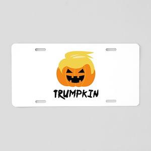 Trumpkin Aluminum License Plate