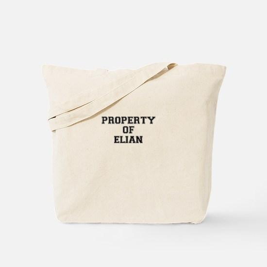 Property of ELIAN Tote Bag