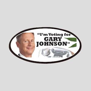 Gary Johnson voter Patch