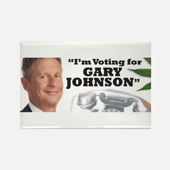 Gary Johnson voter Magnets