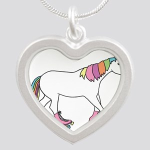 Unicorn Rollerskating Necklaces