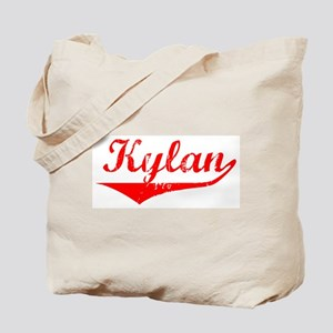 Kylan Vintage (Red) Tote Bag