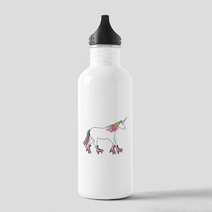 Unicorn Rollerskating Stainless Water Bottle 1.0L