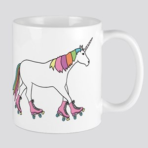Unicorn Rollerskating Mugs