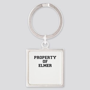 Property of ELMER Keychains