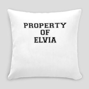 Property of ELVIA Everyday Pillow