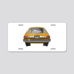 1979 Pacer Aluminum License Plate