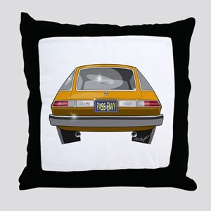 1979 Pacer Throw Pillow