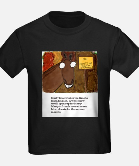 Marty learned english. T-Shirt