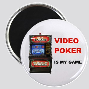 VIDEO POKER Magnet