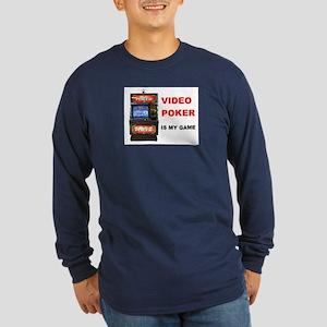 VIDEO POKER Long Sleeve Dark T-Shirt